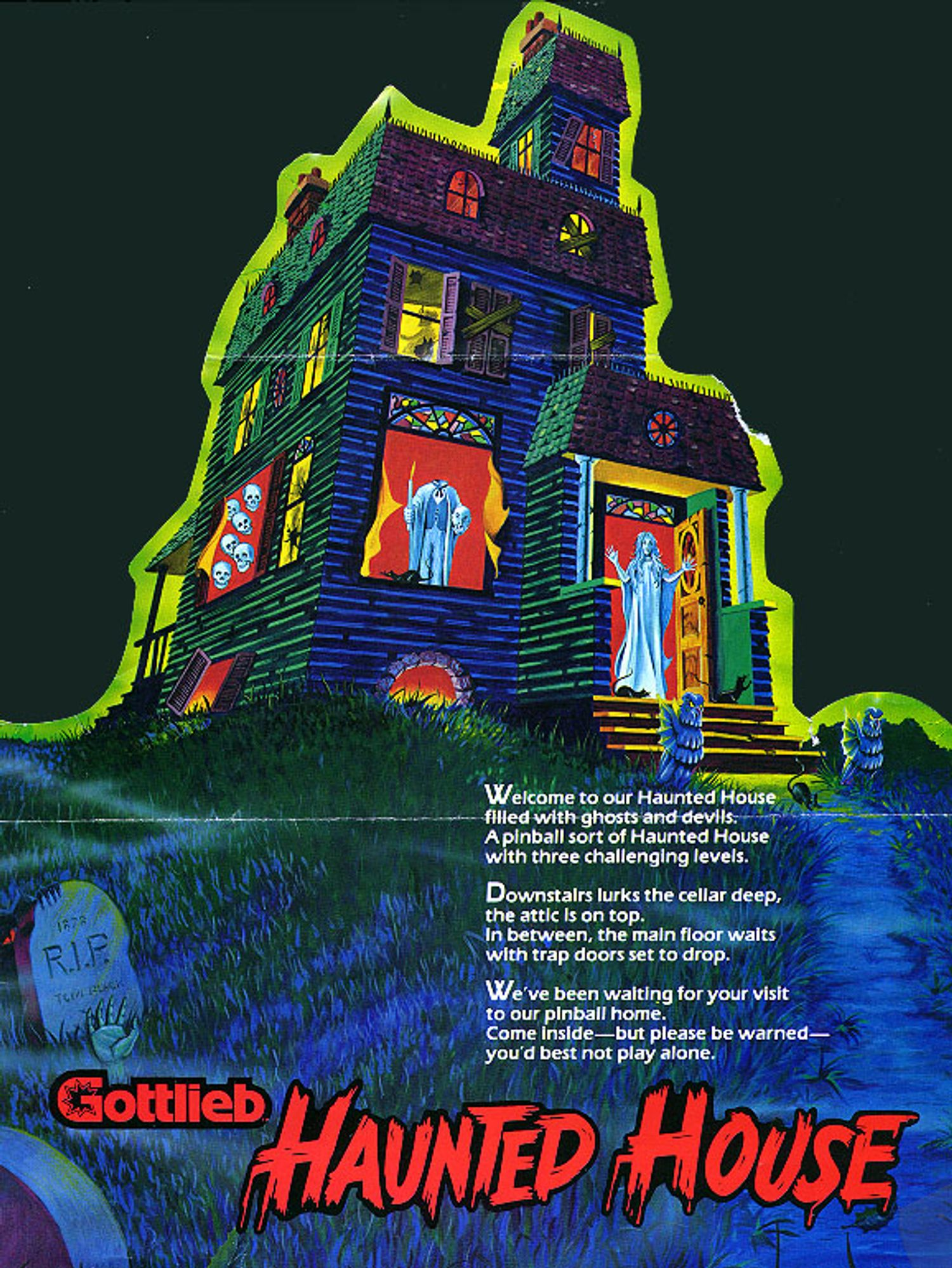 Haunted House Flyer Page 2