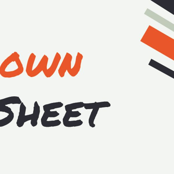 Banner for Markdown Cheat Sheet, the first Svelte app I made.