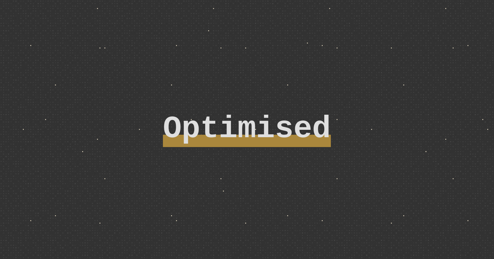 "Image with text ""Optimised"" centered"