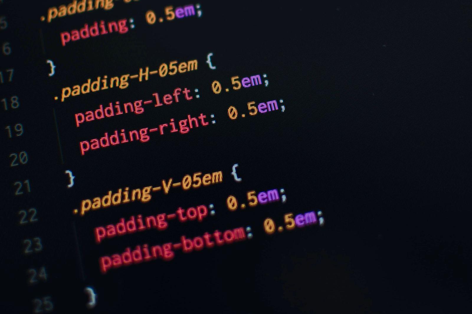 CSS programming language