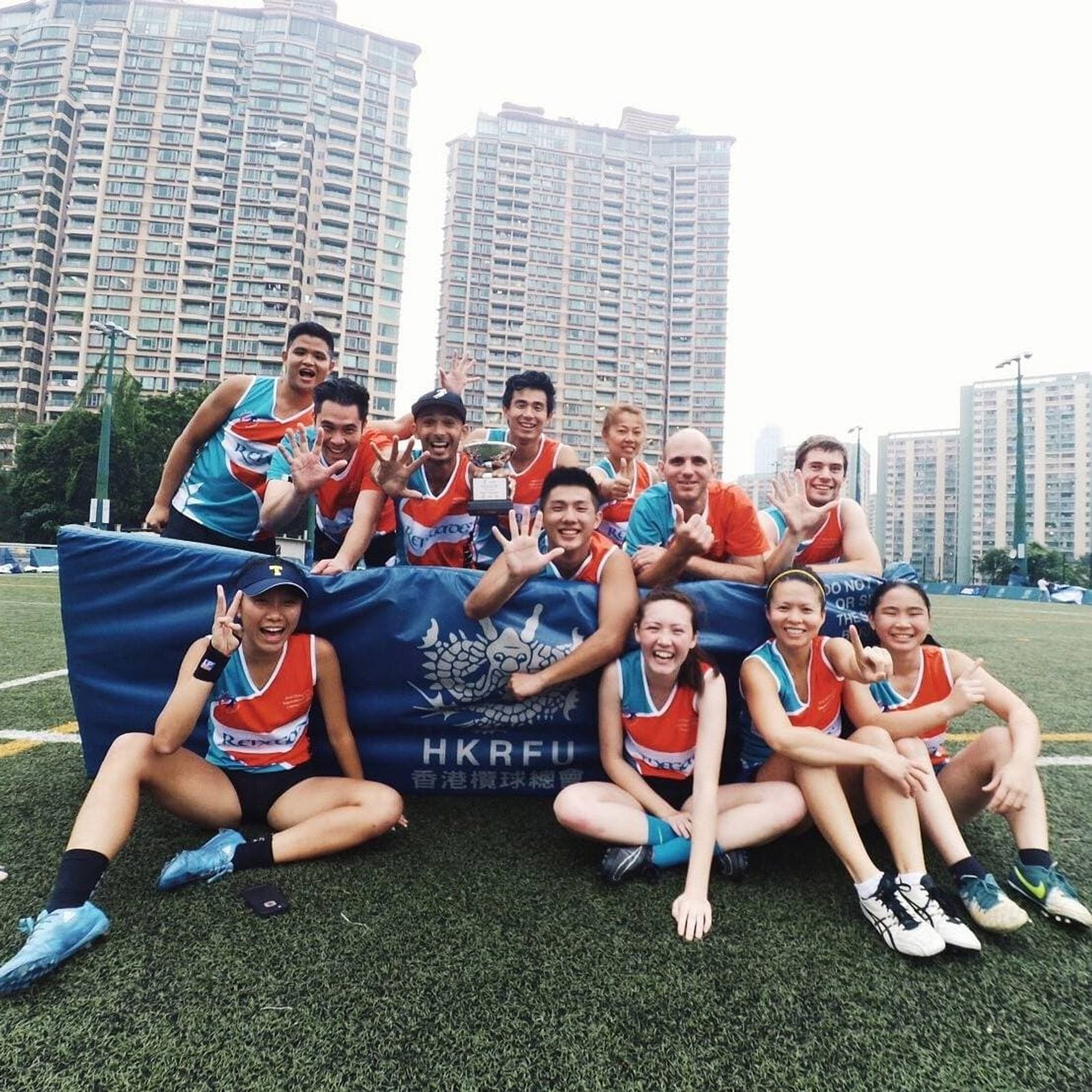 Image of Taipei Renegades Touch Football Team.
