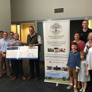 Donation to Lachlan Hughes Foundation
