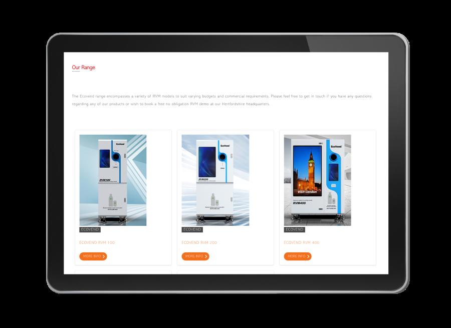 gatsby js environmental website design