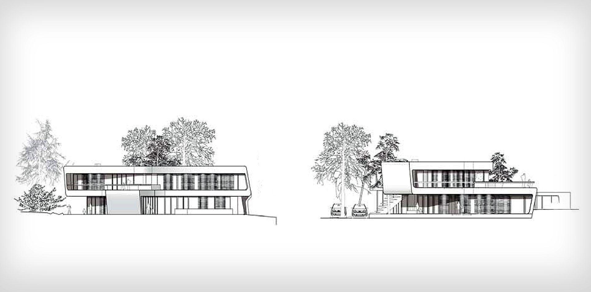 Haus falkenried plan