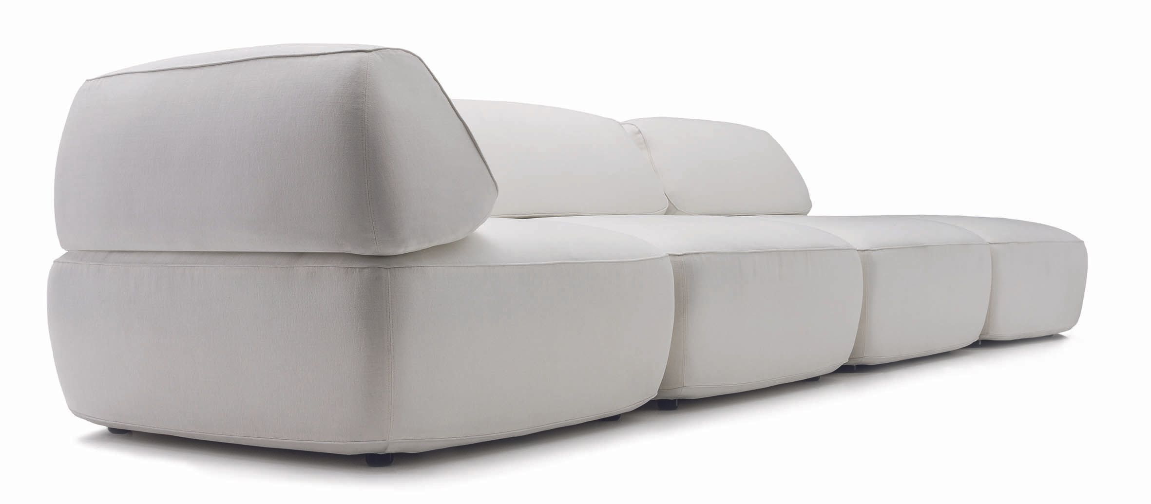 FAT TONY Project type: Sofa System, Couch, Armchair, Chaise Longue     Time:  2012-2013     Status: Available     Client: IP Design     Info: http://www.ipdesign.de     Photos: ipdesign   Furniture endlessly variable in use, in covers, in formation…     Fat Tony is a modular seating system whose 'kit of parts' allows a huge spectrum of variation possibilities. Designed by the architecture brand GRAFT, Fat Tony is endlessly flexible in use with its three cubic modules. Bachelor pad or loft, living room or hotel lobby – Fat Tony is at home anywhere. Its different elements make it uniquely versatile and make it look great in any location.