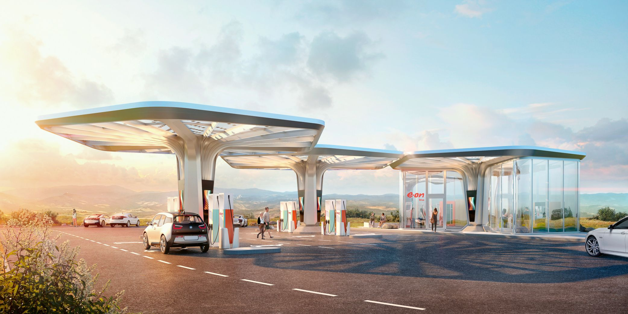 E.ON Ultra Fast Charging Stations