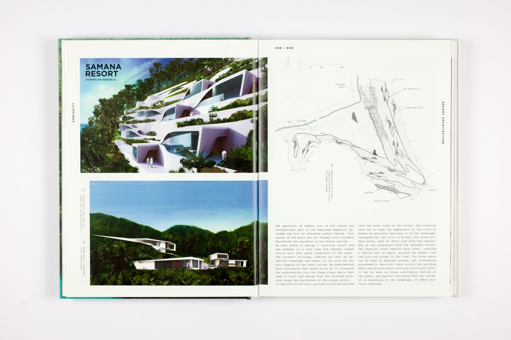 Architecture must improve our lives, not just fulfil functional or aesthetic requirements. In the search for quality and beauty, complex form and ambiguity are part of the essence of an architecture that goes beyond what is 'patent' and 'correct'.