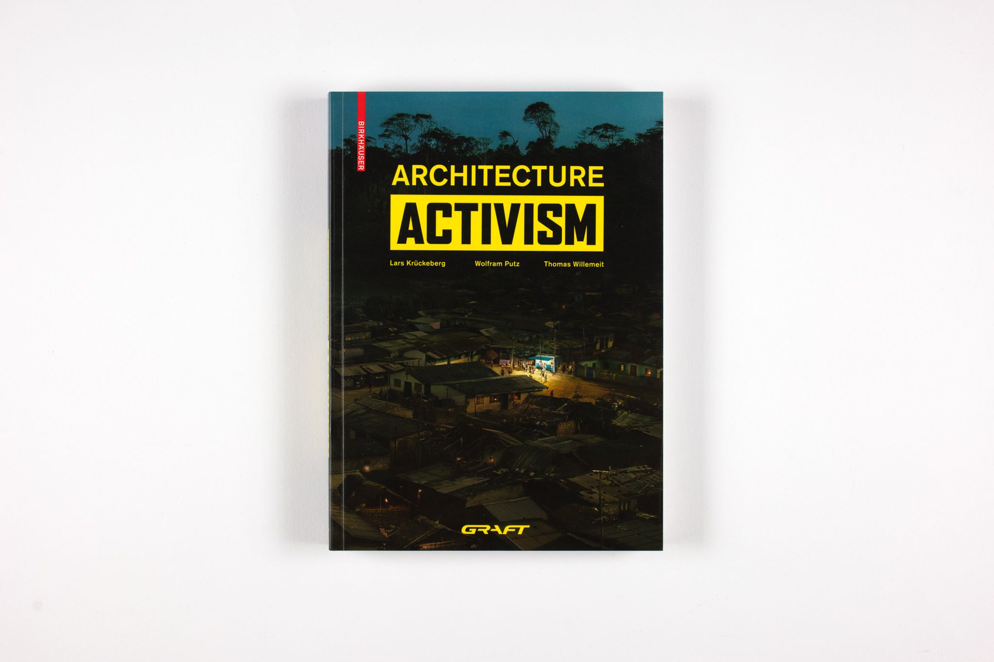 Architecture Activism documents ten projects that specifically address social problems and societal needs around the globe in which architecture is used as a means of actively fostering the development of livable places and environments. Among them is SOLARKIOSK, a self-initiated project that empowers people in off-grid communities by bringing clean energy and light into darkness.