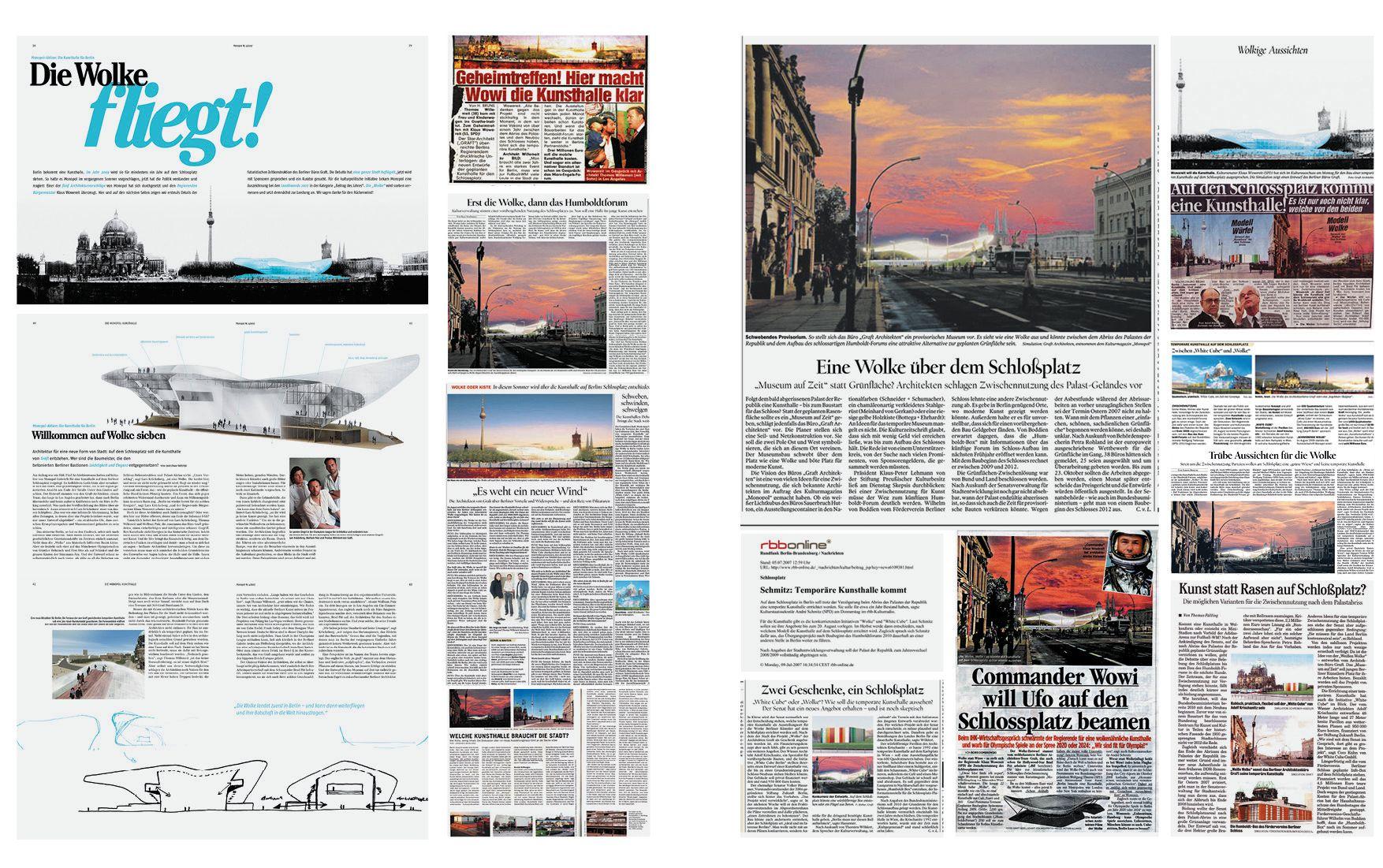 Art Cloud Newspaper