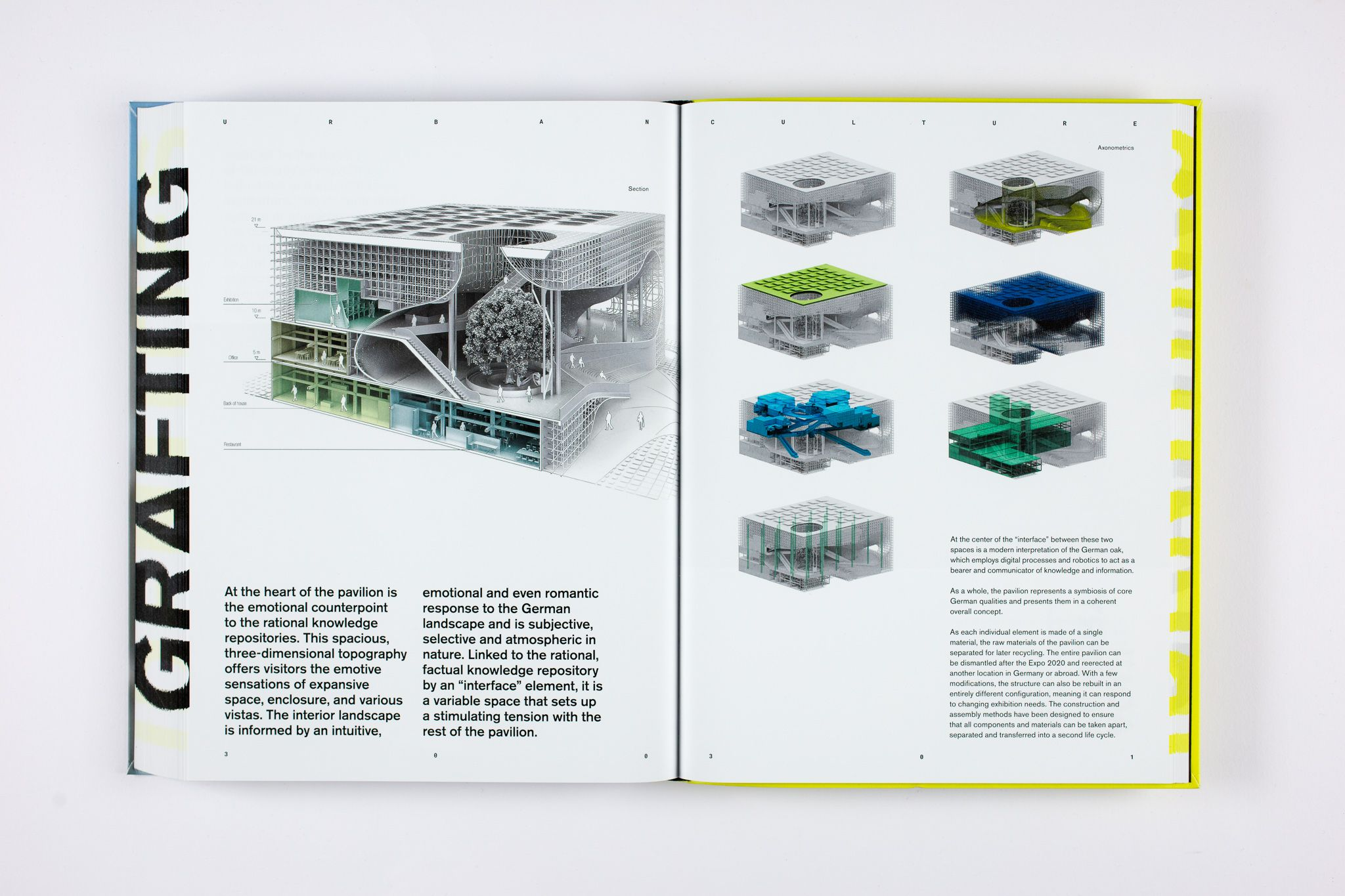 Identity. New Commercial, Cultural and Mobility Architecture