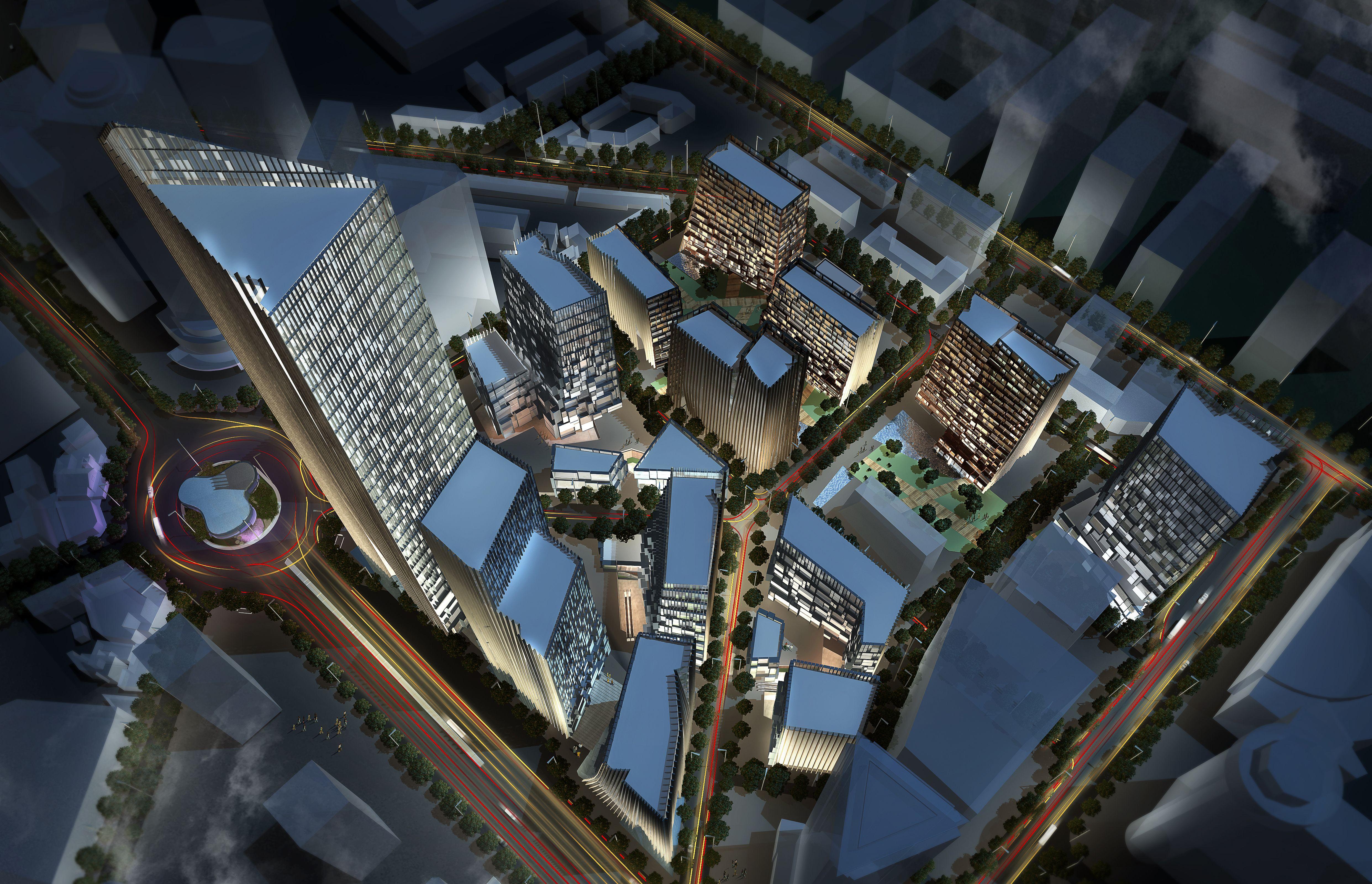 Dalian Downtown -Youhao Square