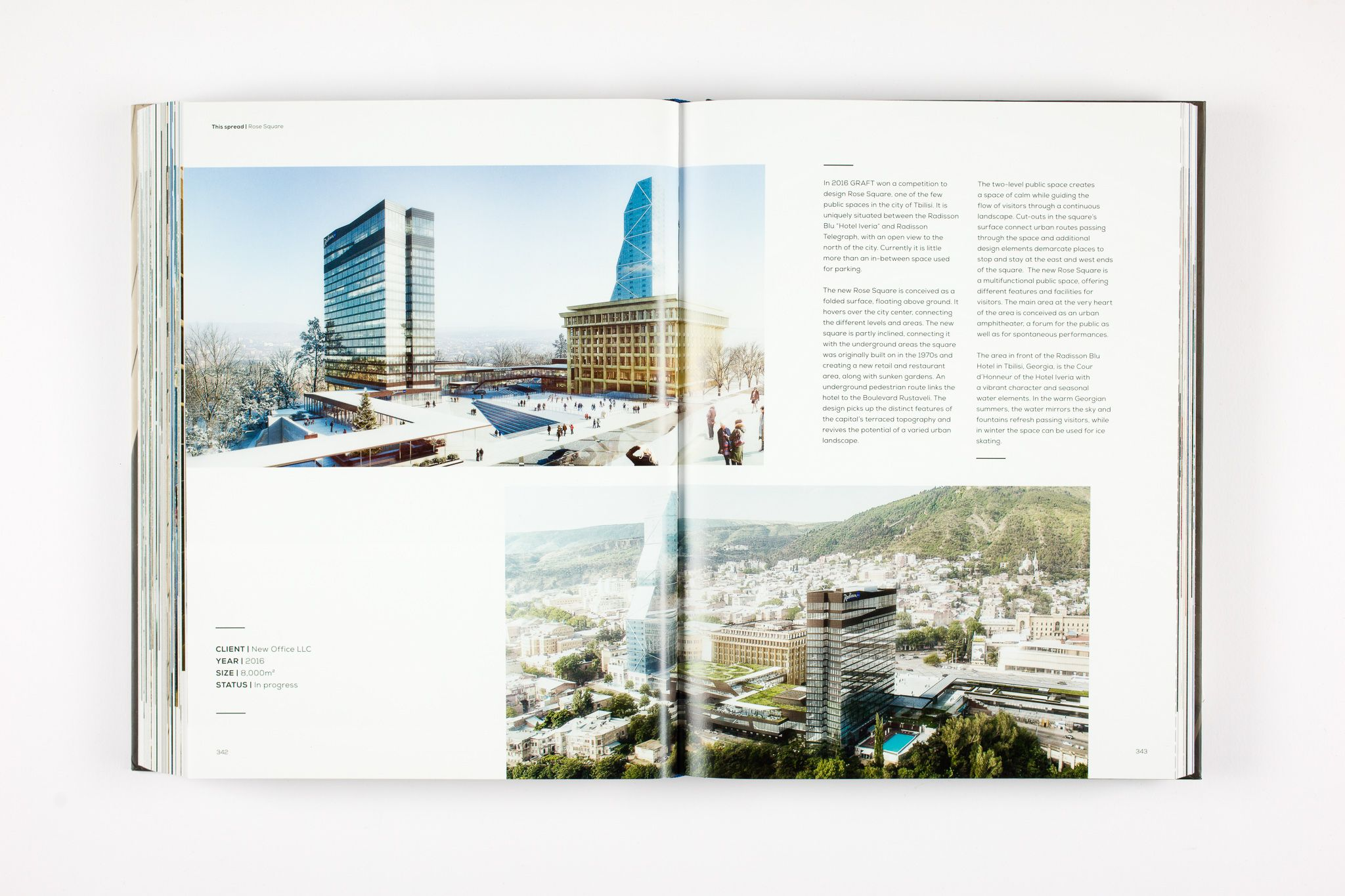 Renowned publishing house Birkhaeuser de Gruyter presents the monograph GRAFT Home. Story. that shows a comprehensive overview of the firm's work in the field of housing and hospitality.