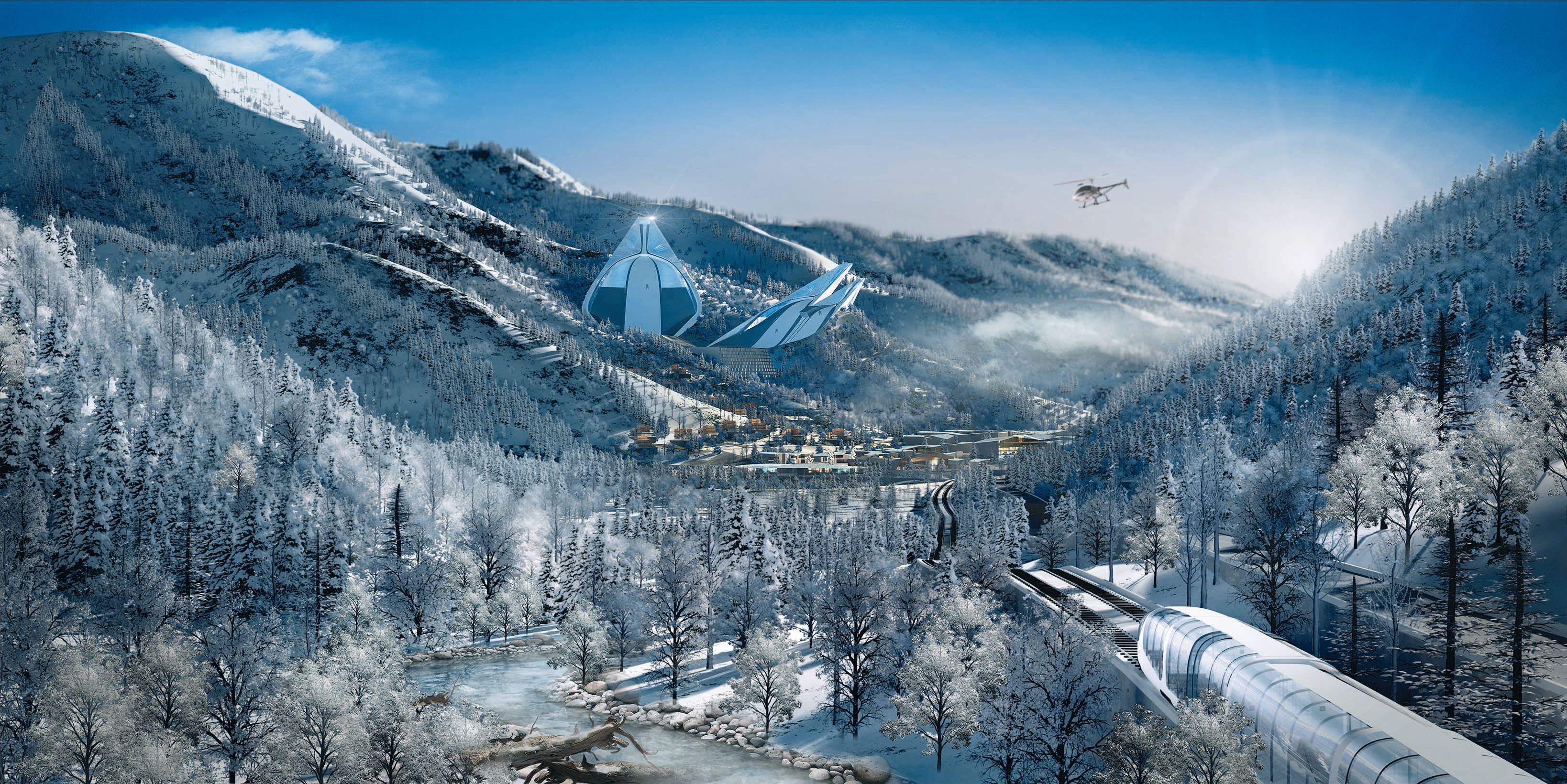 Changbaishan Ski Jumps