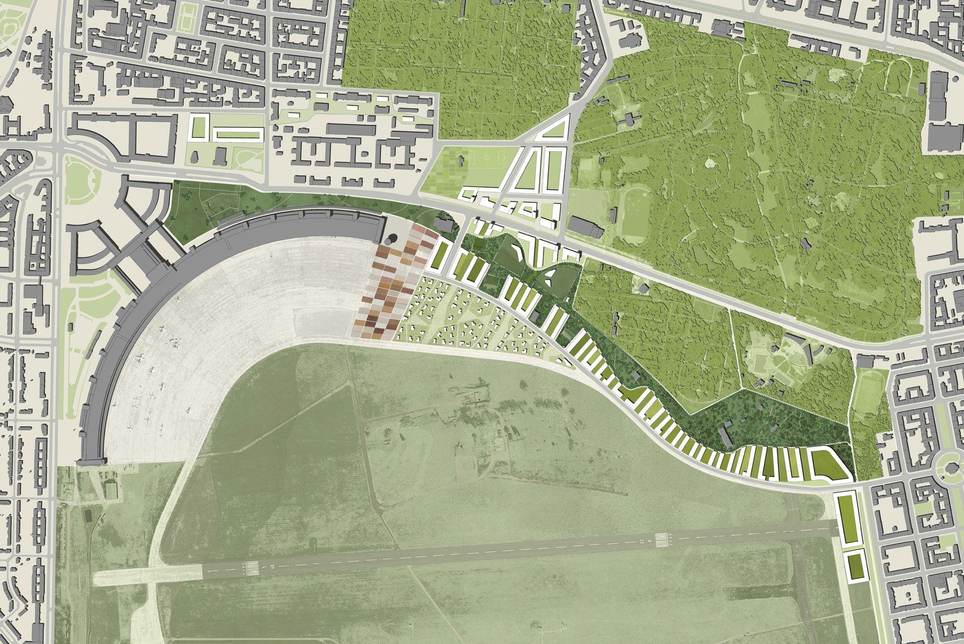 Columbiaquartier Site Plan