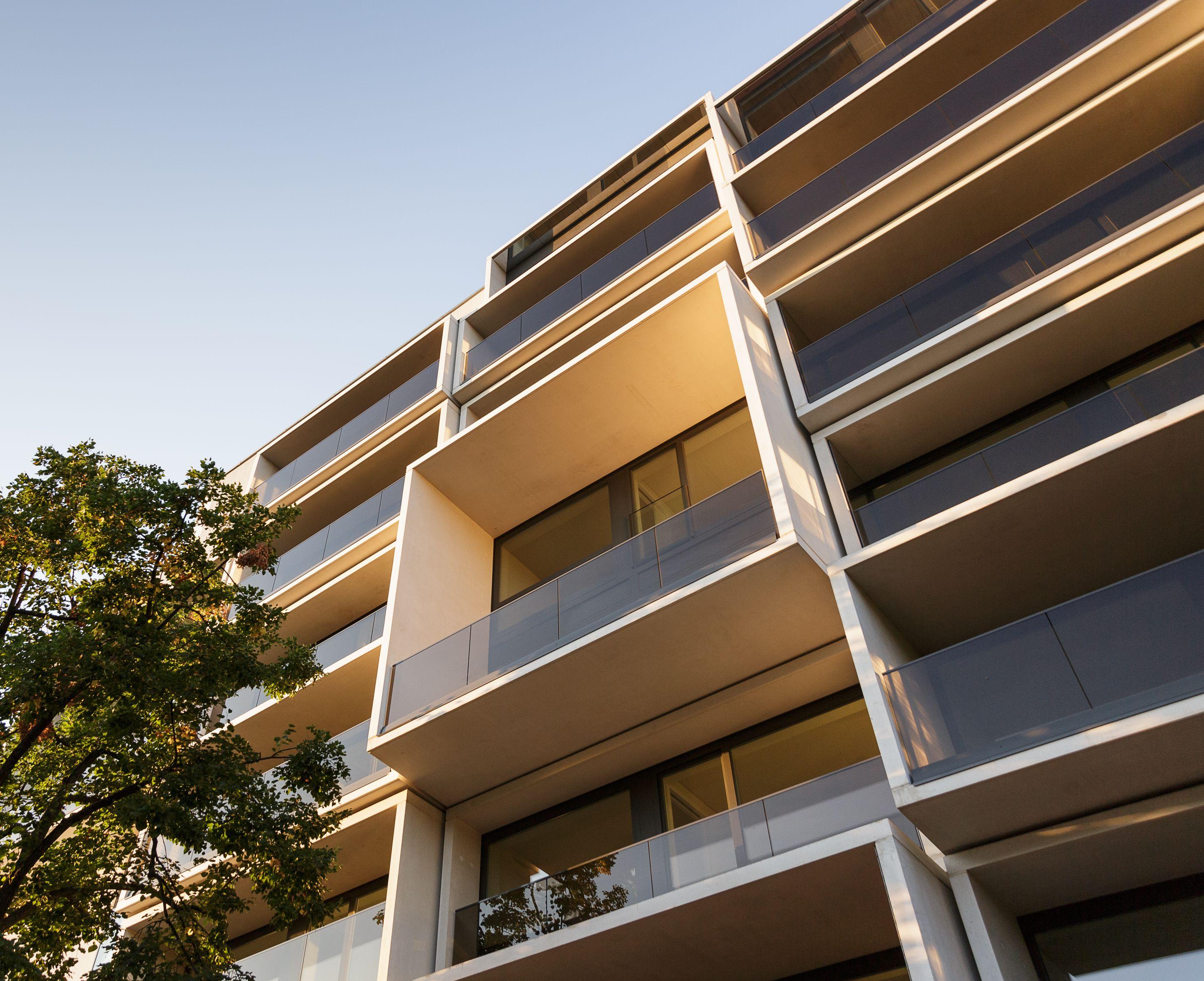 Paragon Apartments Isokorb