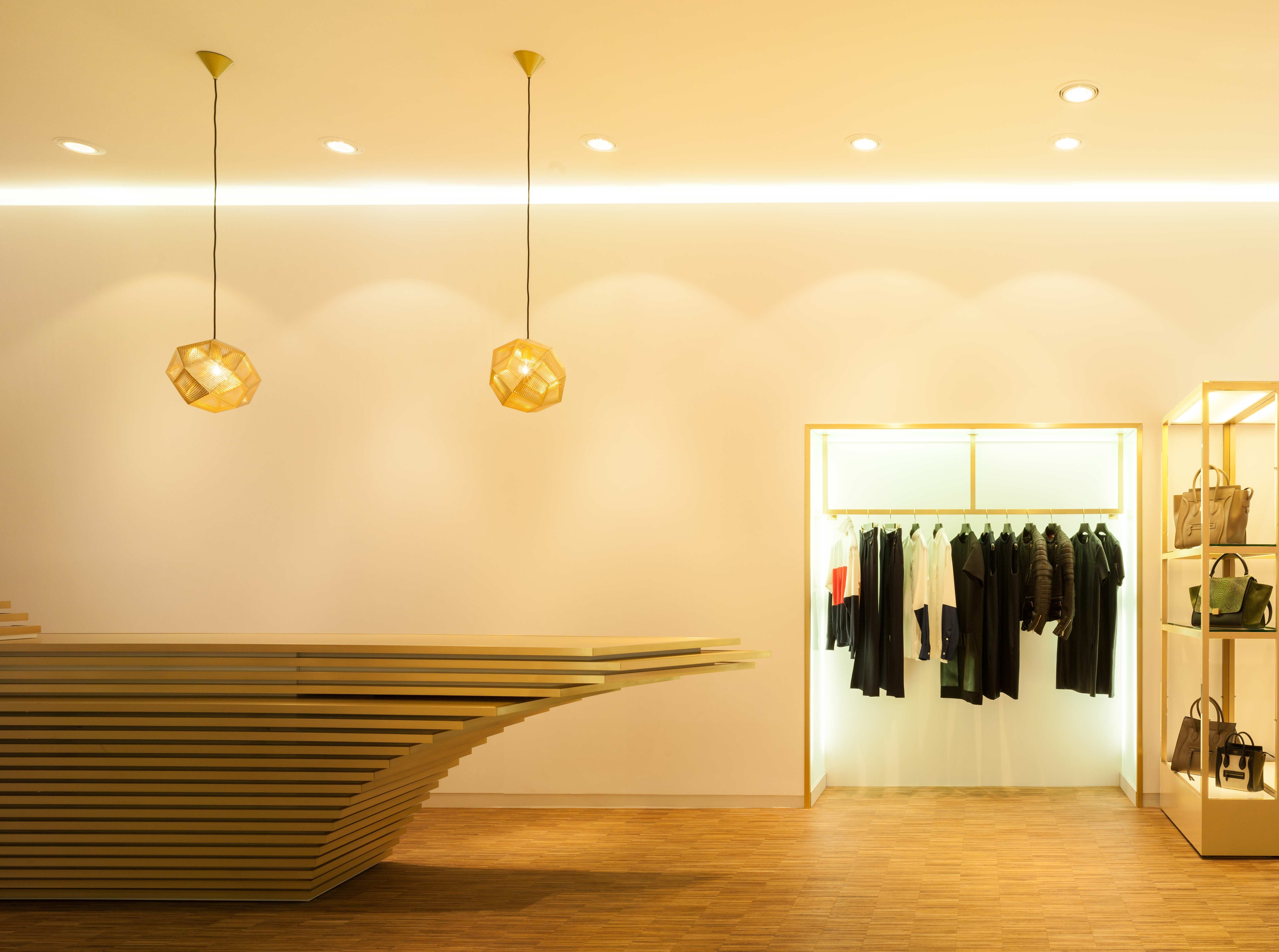 GRAFT designed the first store for the online shopping site stylebop.com in Koblenz am Rhein, Germany.