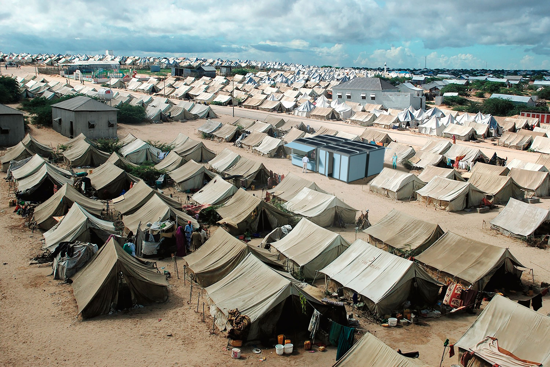 GRAFT Solarkiosk refugee camp