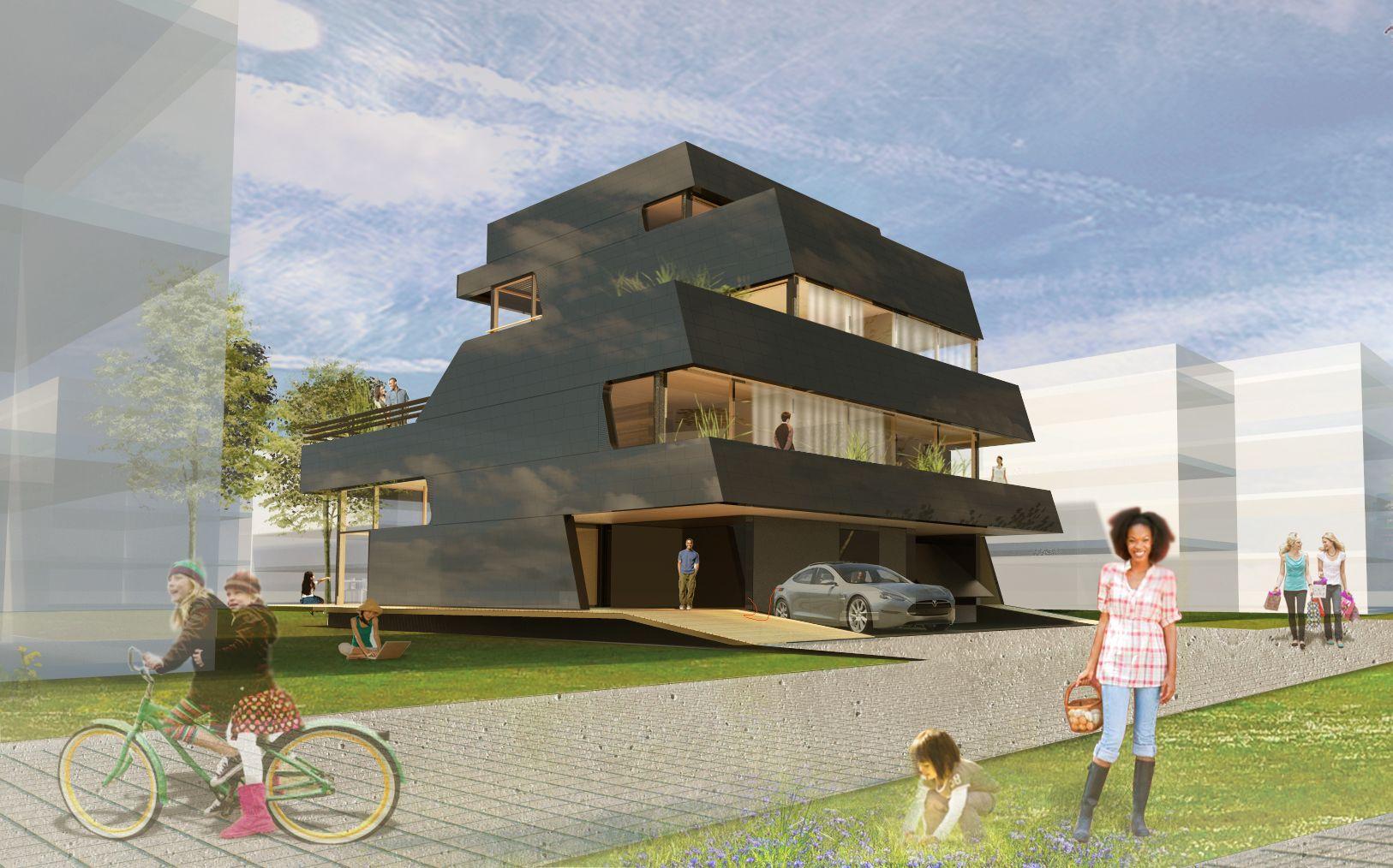 Smart air house