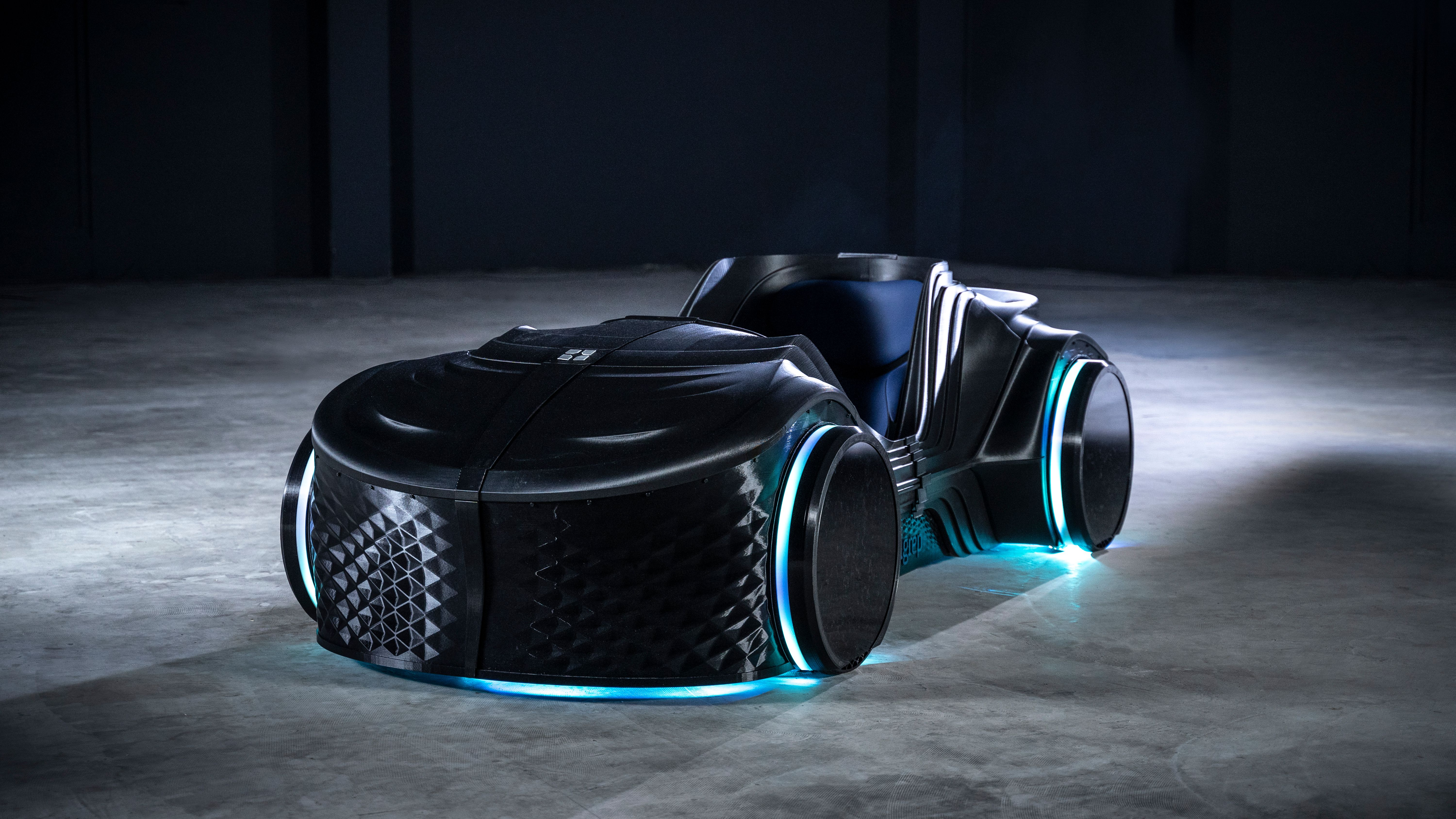 The Loci Podcar by BigRep: a fully 3D-printed autonomous (driving) car.