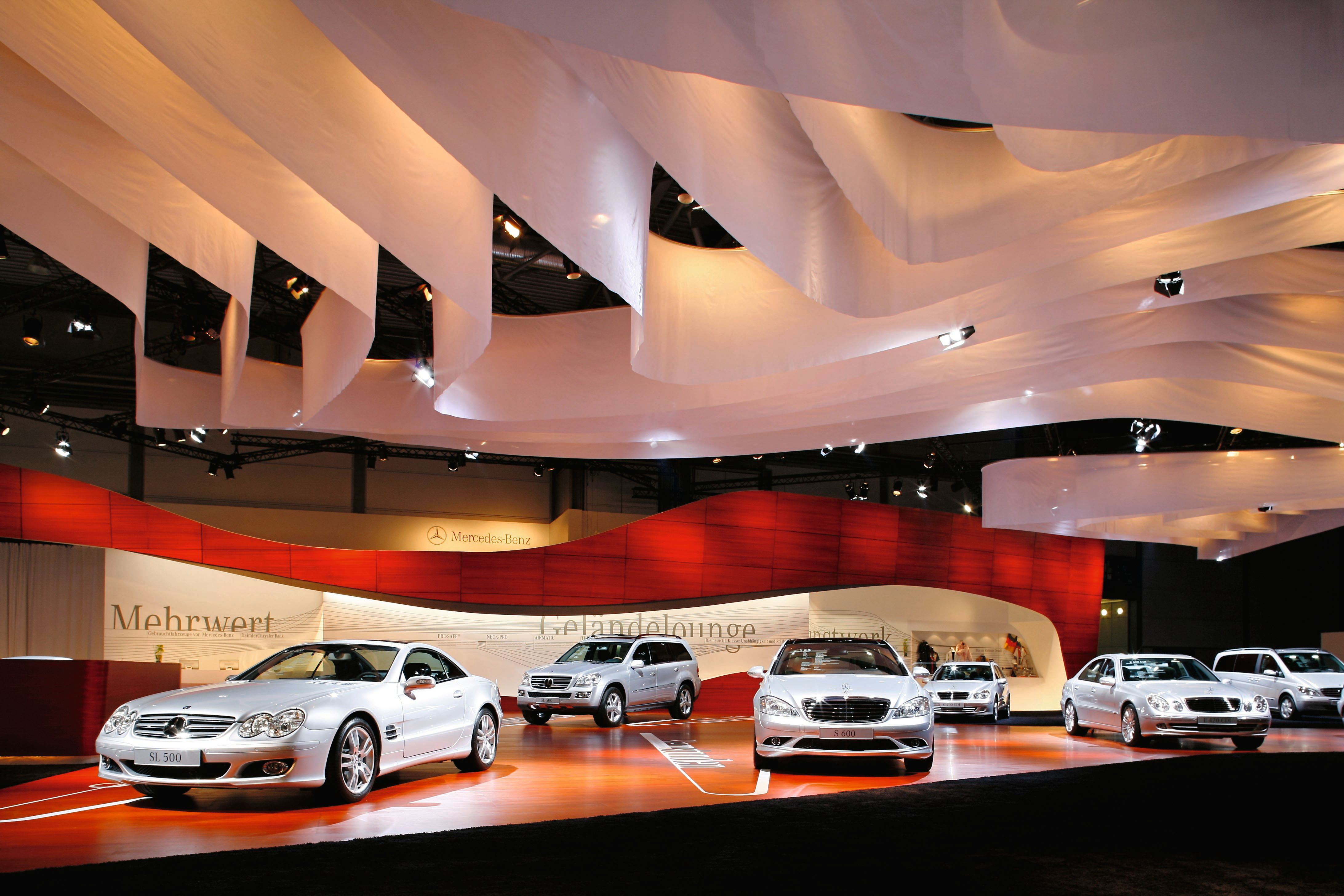mercedes maybach car show