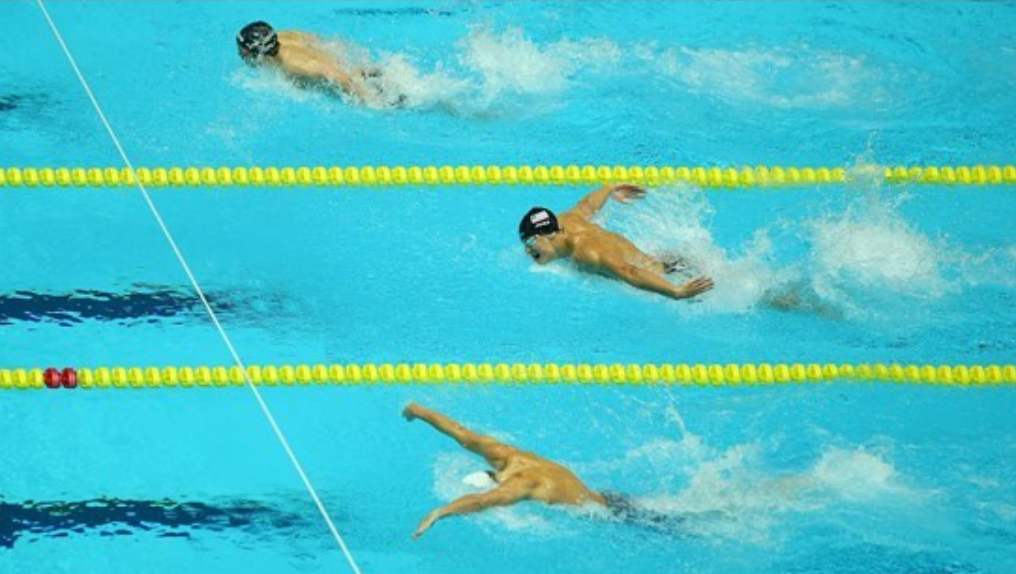What I talk about when I talk about swimming