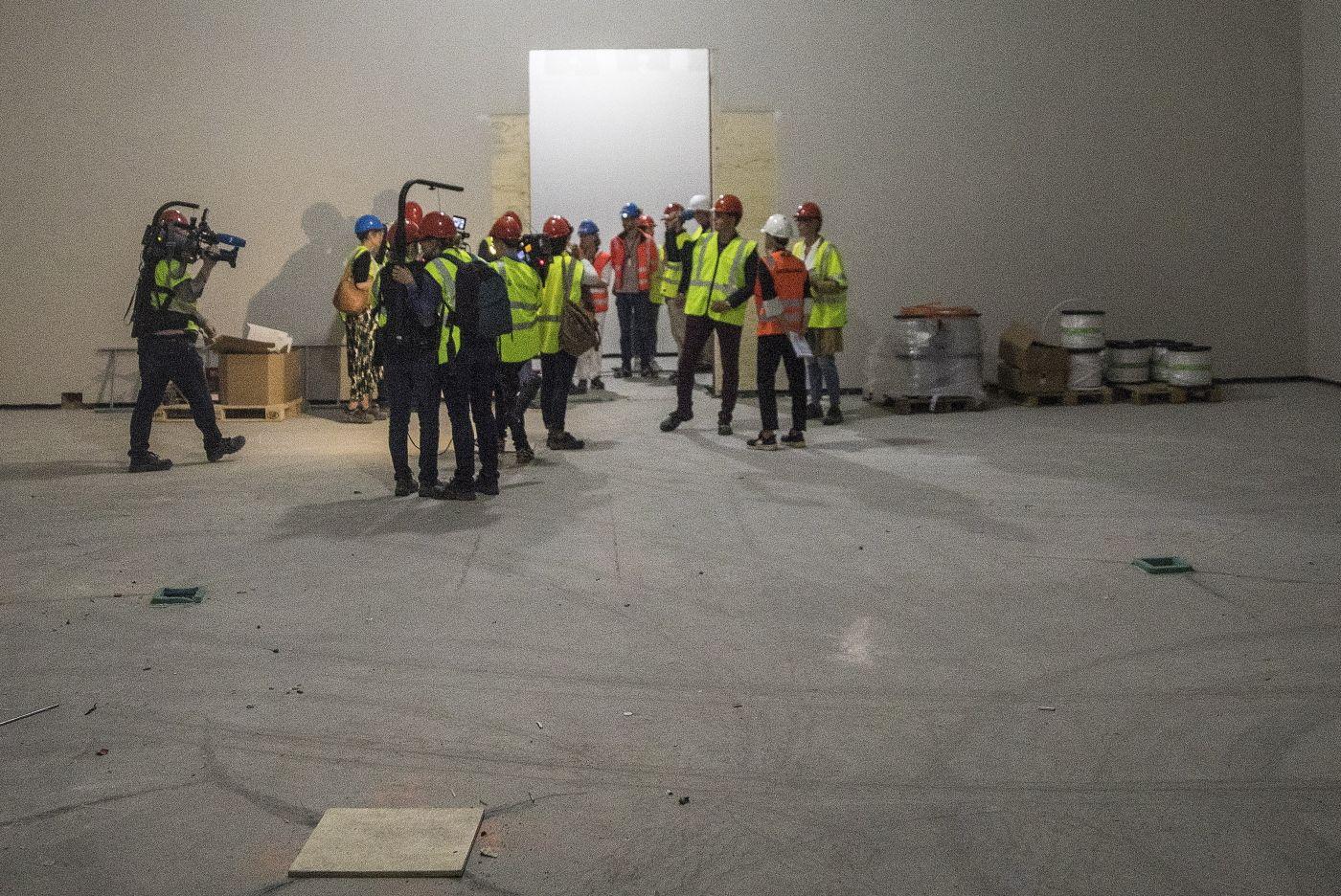 Oslo  20180613.   Publikum inviteres til åpen dag på det nye Nasjonalmuseet førstkommende lørdag. Onsdag var det visning for pressen. Her er den nye Munch-salen.   Foto: Ole Berg-Rusten / NTB Scanpix