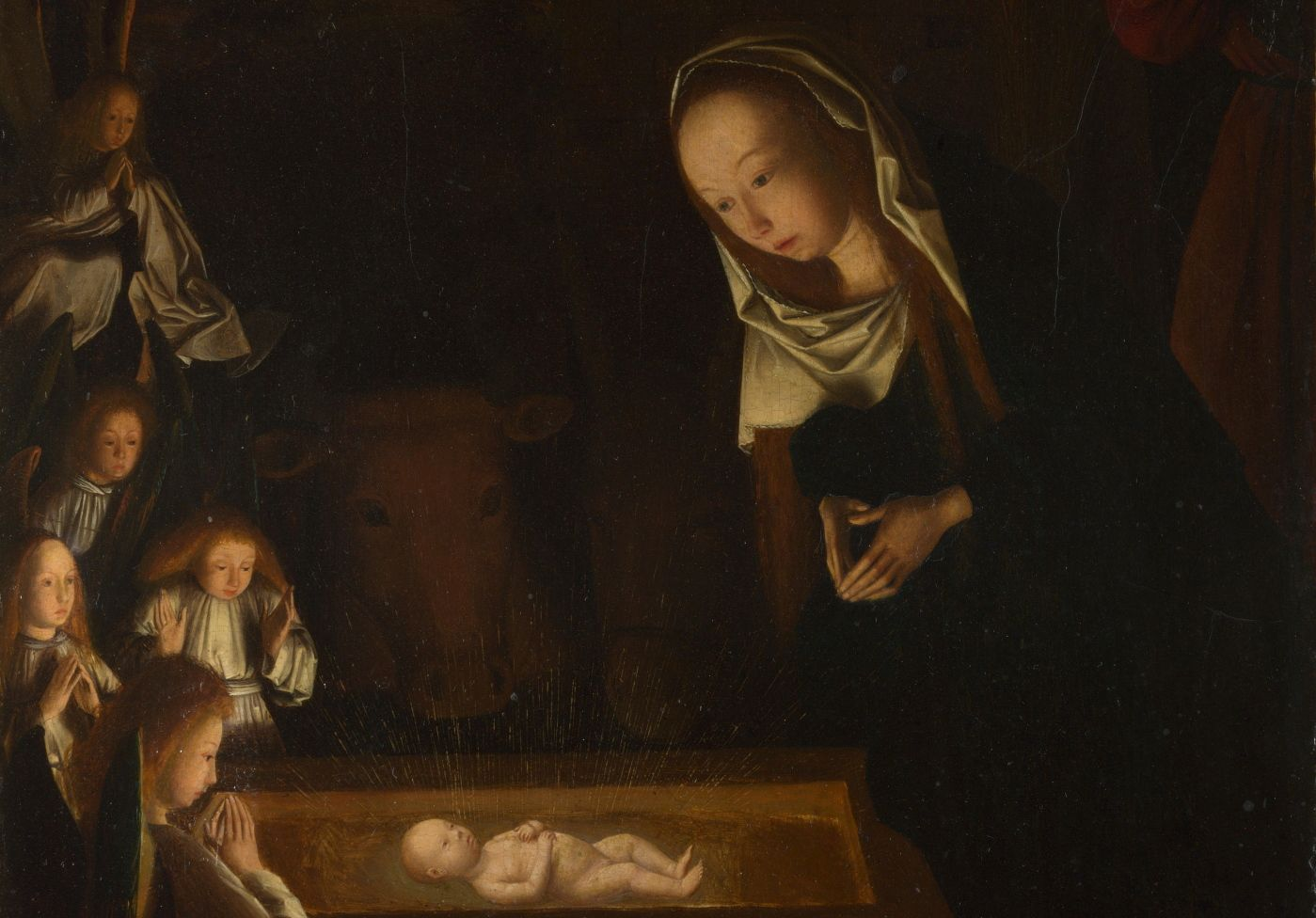 FOTO: GEERTGEN TOT SINT JANS SITT NATIVITY AT NIGHT FRA 1490 (WIKIMEDIA COMMONS/THE NATIONAL GALLERY)