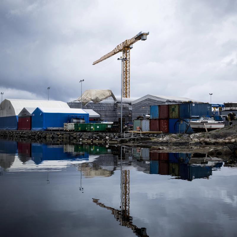 NEST BILLIGST: Fitjar Mekaniske Verksted i Sunnhordland leverte et tilbud om å bygge skip for Havforskningsinstituttet som var 22 millioner dyrere enn det nederlandske verftet som vant anbudsrunden.FOTO: GUNNAR WIEDERSTRØM
