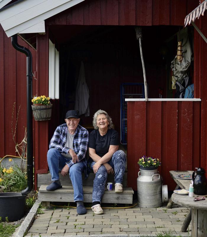 RADARPAR: Øyvind og Reidun Hansen har holdt fortet på Sollia i mer enn 50 år. Der hjelper de «elevene» sine med å holde seg rusfrie og komme seg tilbake i samfunnet.