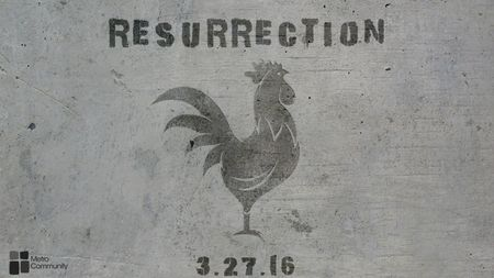Resurrection graphic