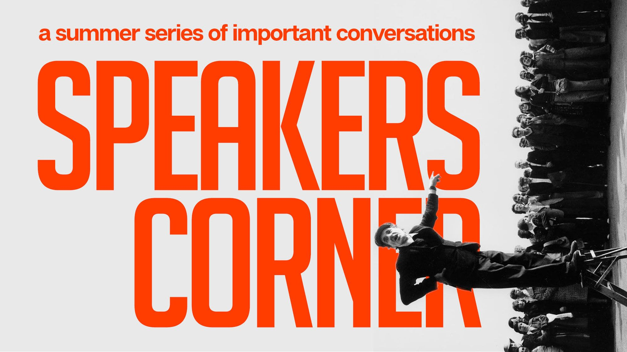 Speakers Corner graphic