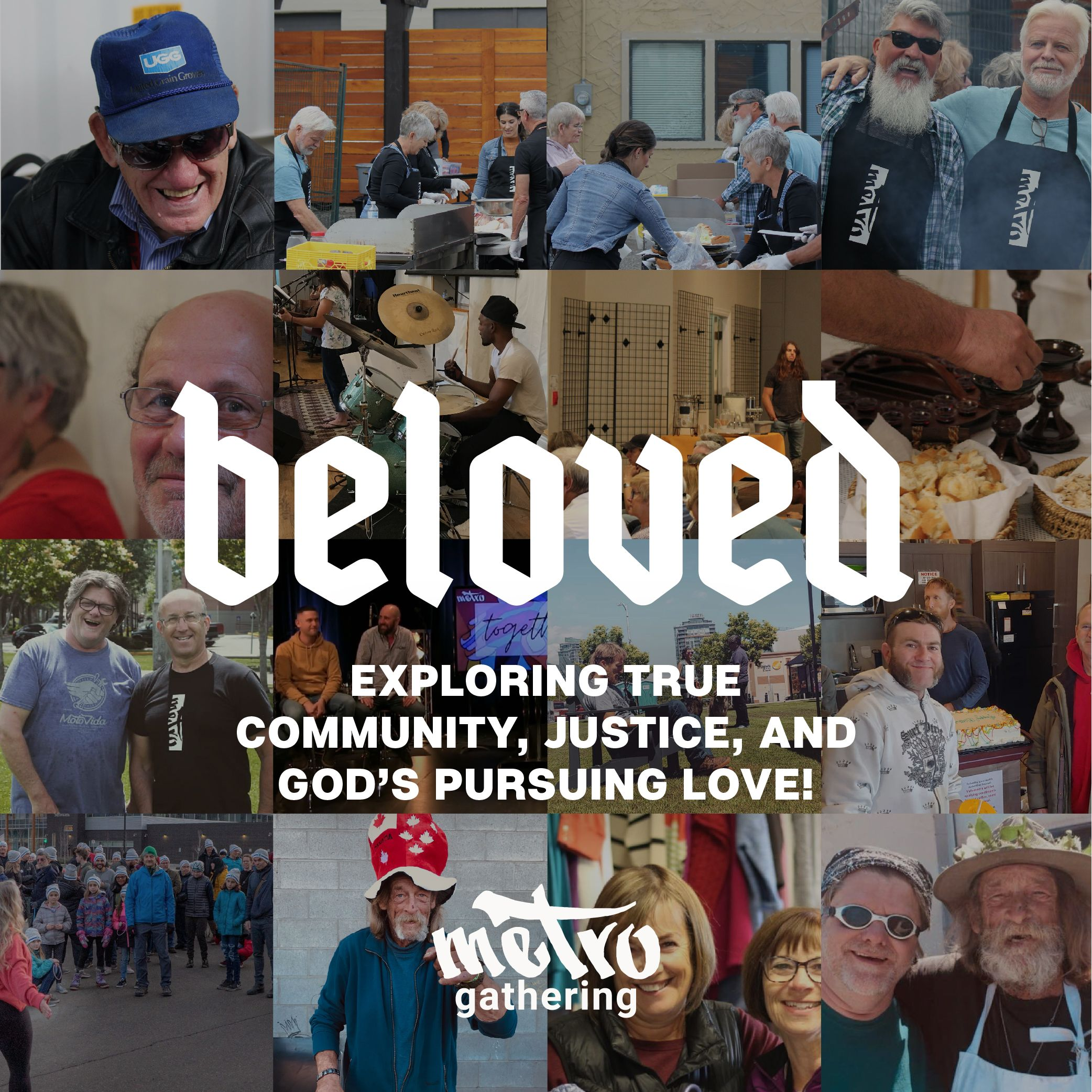 Beloved: exploring true community, justice, and God's pursuing love graphic