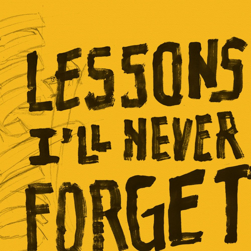 Lessons I'll Never Forget: A Fall Lessons Series graphic