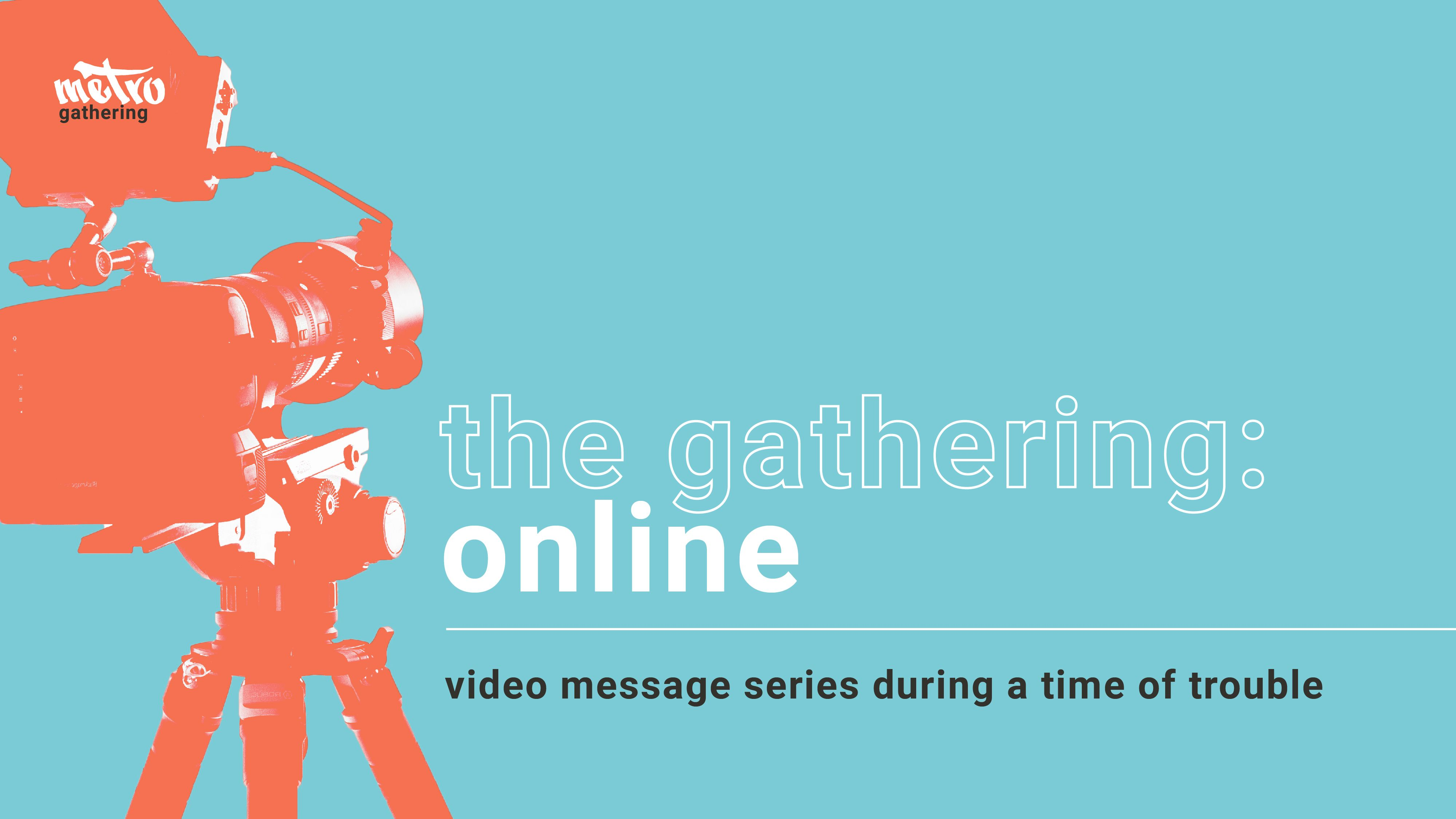 The Gathering: Online graphic