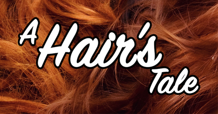 A Hair's Tale graphic