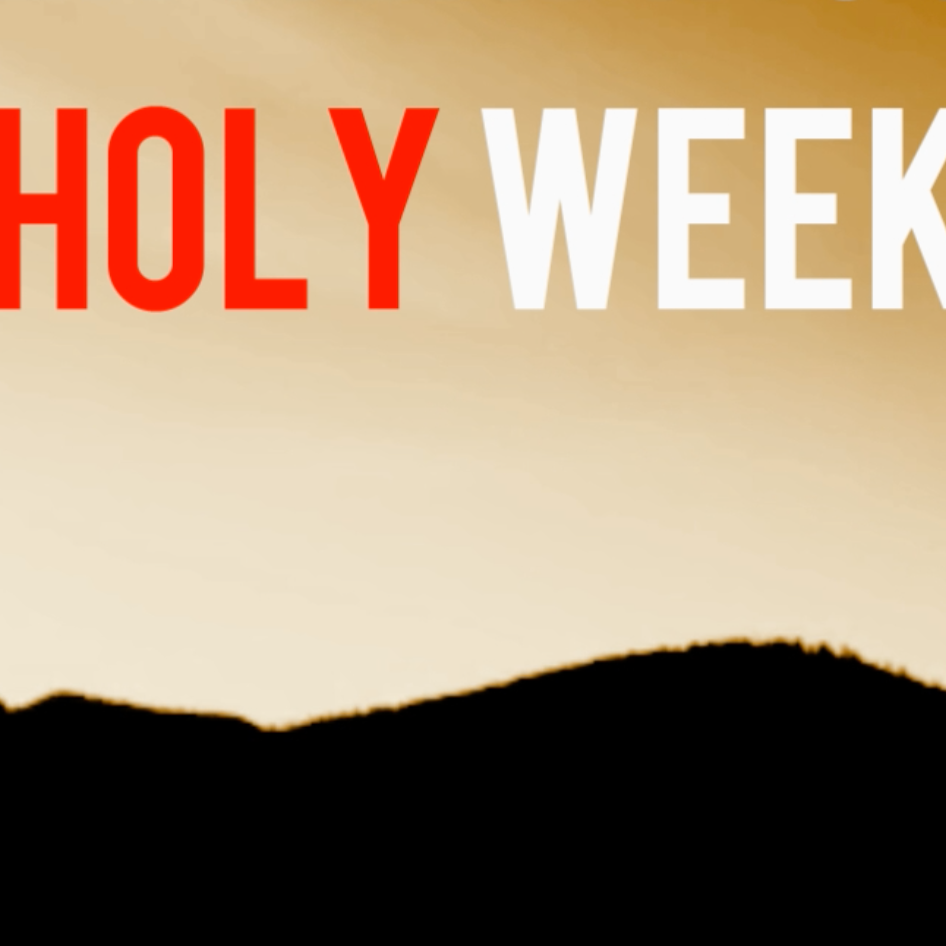 The Easter Story: 7 Daily Videos Everyday for Holy Week graphic