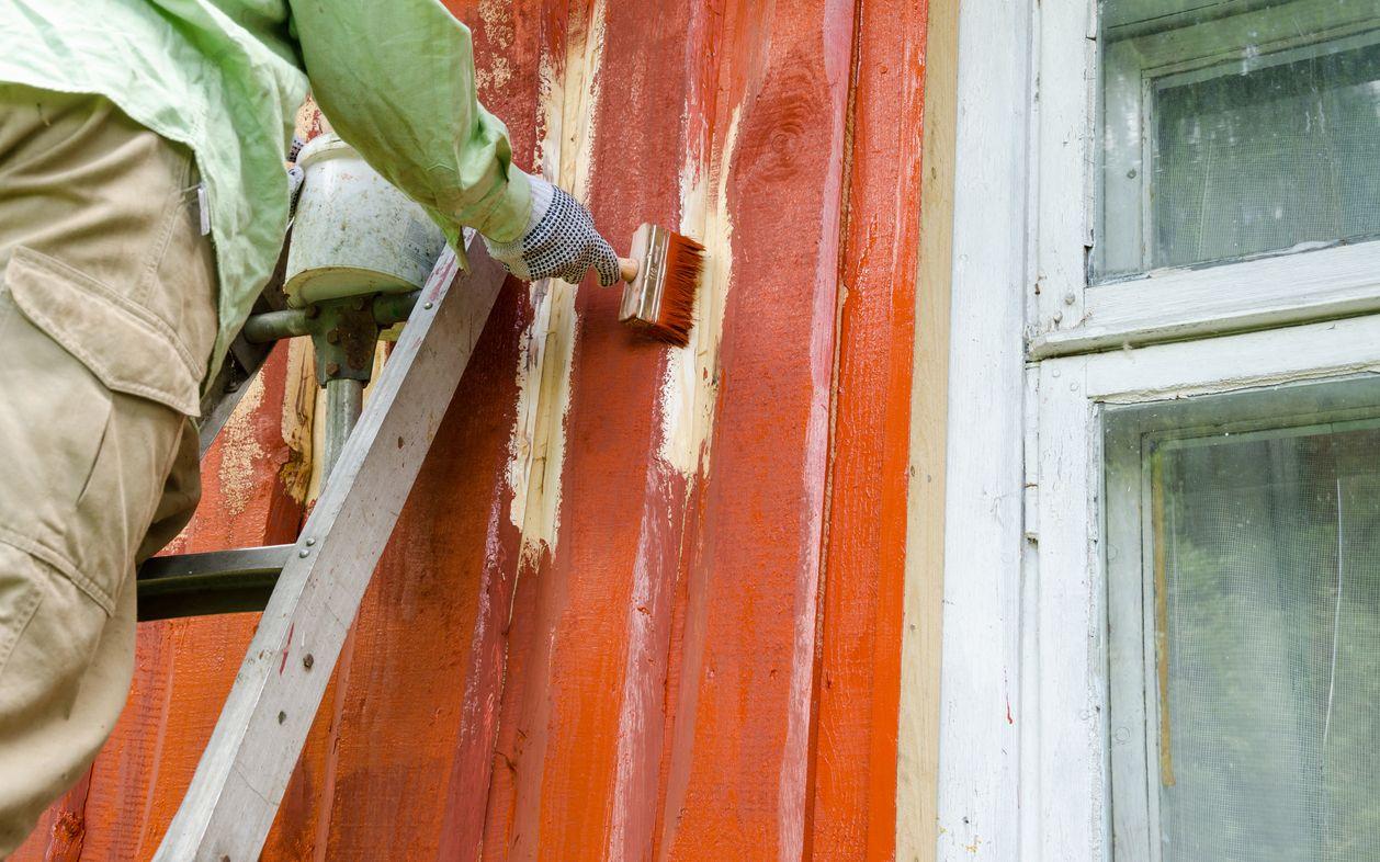 På tide å male huset?