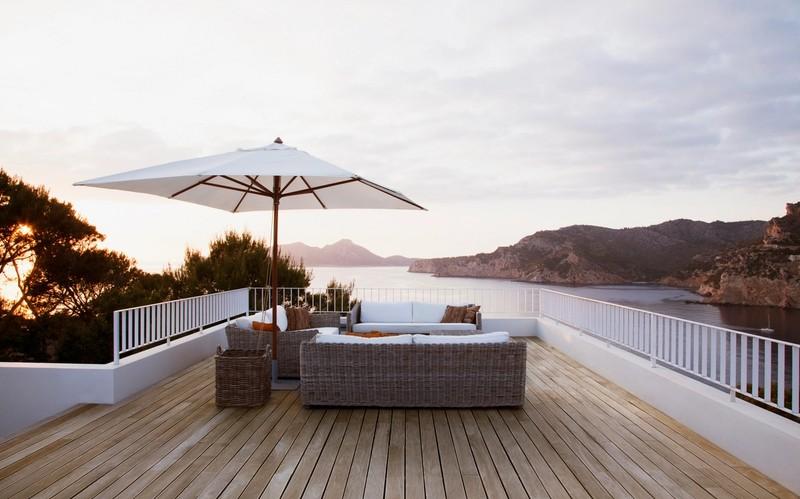 Bygg en platting i sommer del 2: Terrassebordene festes