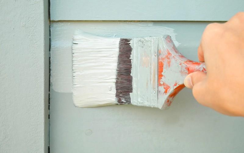 Slik maler du huset