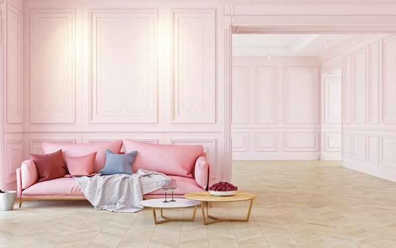 Interiørtips maling innendørs: årets farge 2016 er rosa