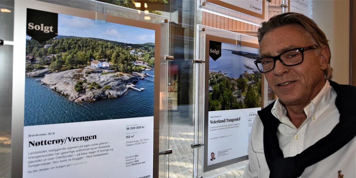 Jørgen gleder seg til hver eneste dag på jobb: - Vi har funnet den optimale modellen for opplæring av nye meglere
