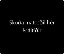 Máltíðir