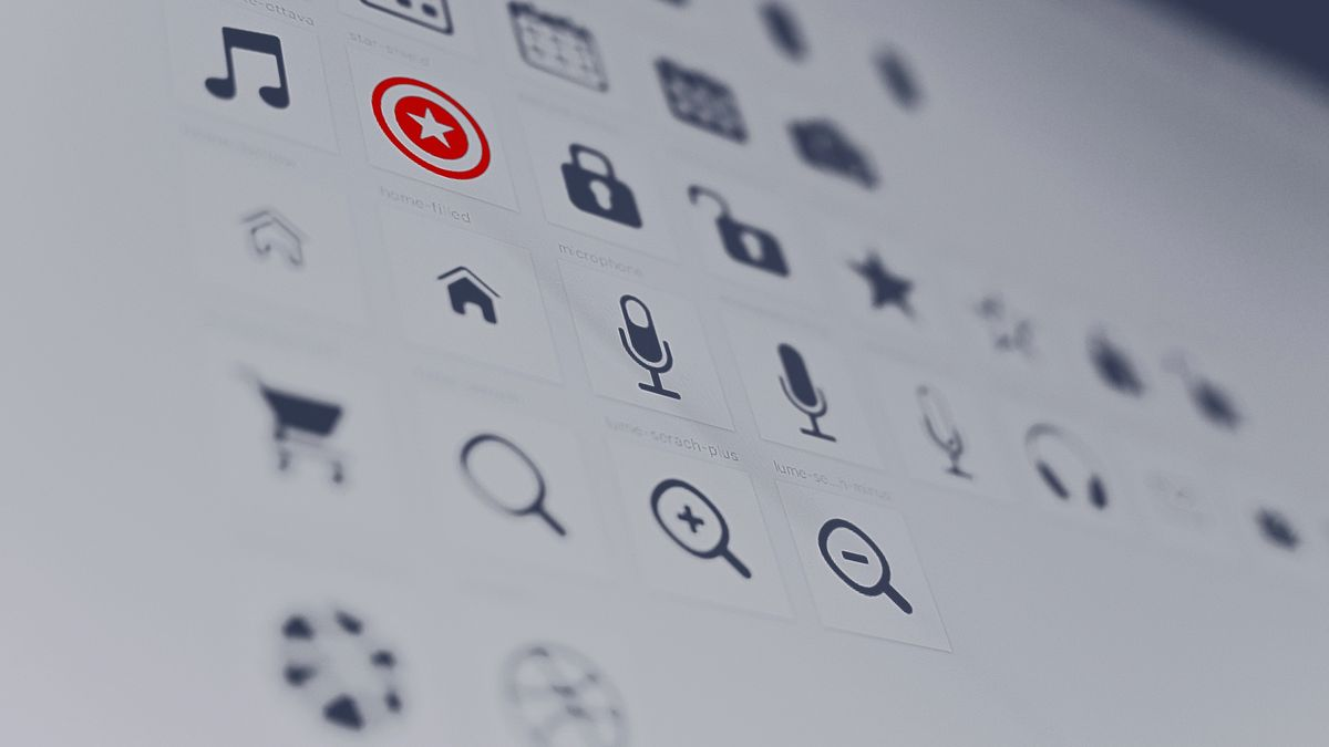 Picture of icons