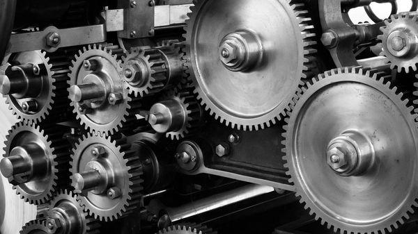 Image of printing press