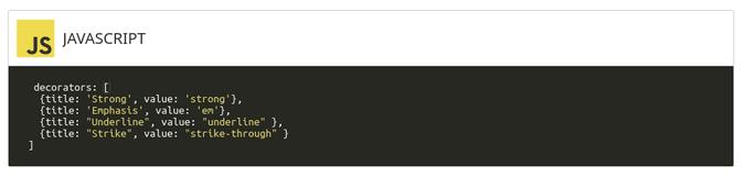 screenshot of code block displayed in blog entry in Studio