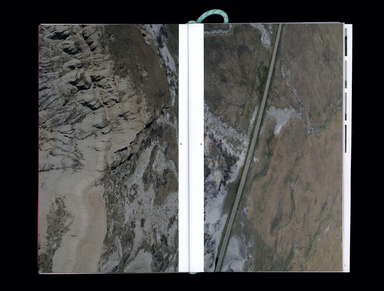 Aerial photograph in book of Dakota plains