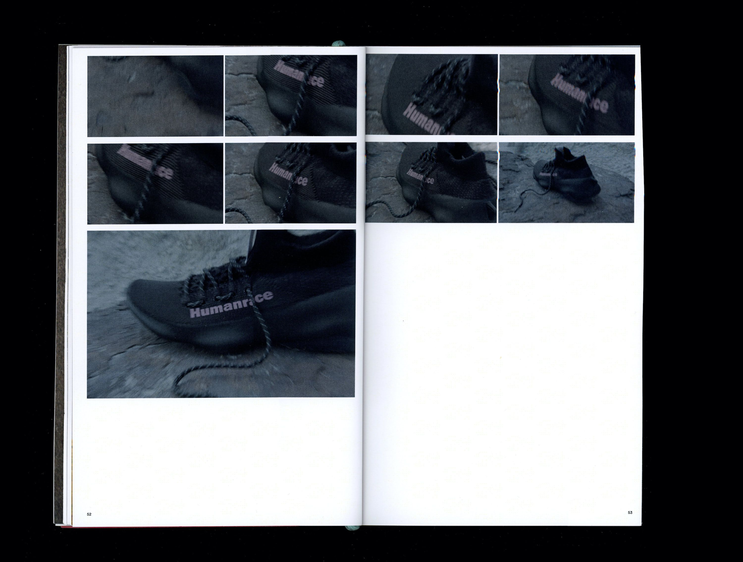 Sequence of photographs in book of black Sičhona show