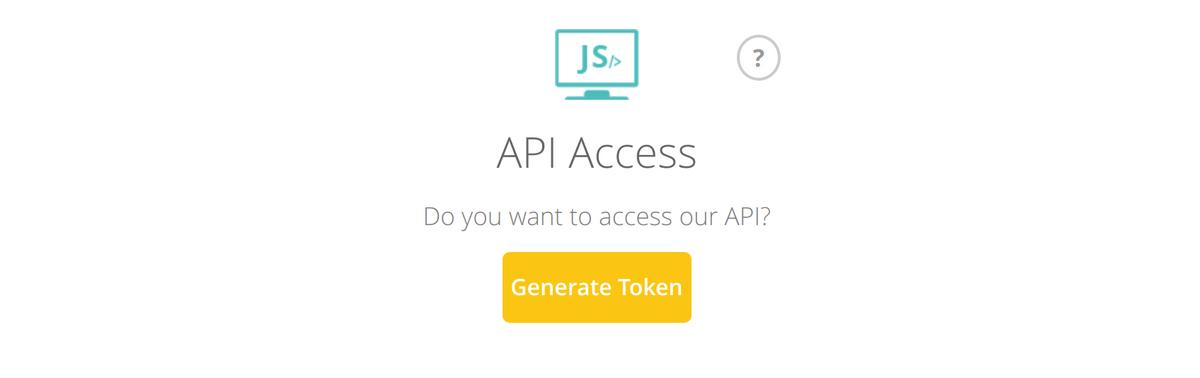 The Unocoin generate API token button