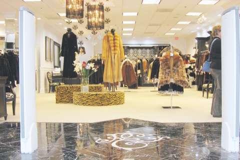 Rosendorf Evans Furs store entrance