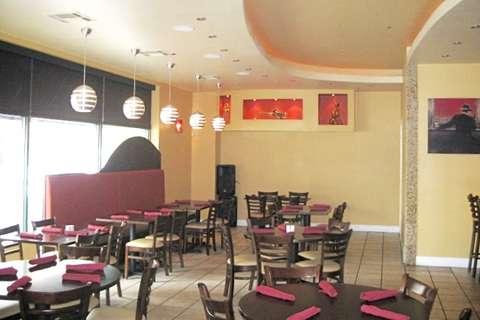 Nostalgia Bistro in Rockville, MD main dining area